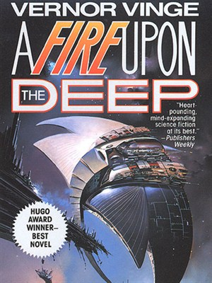 Cover of A Fire Upon the Deep
