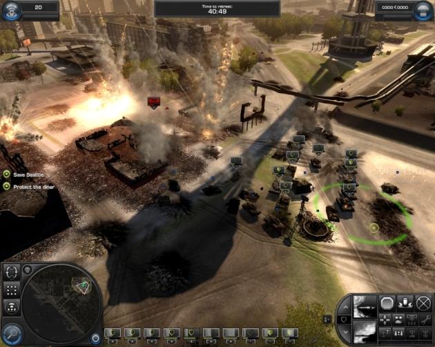 Screenshot of World in Conflict