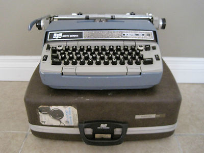 The same kind of typewriter.