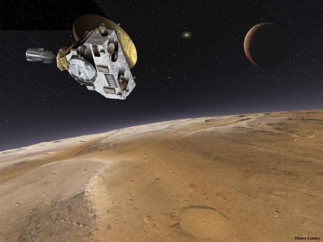 New Horizons rendering