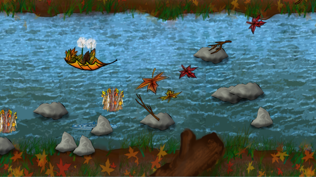A screenshot of Watership Leaf.