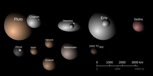 Trans-Neptunian dwarf planets